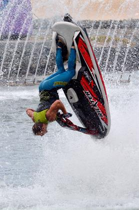 Personal watercraft rider